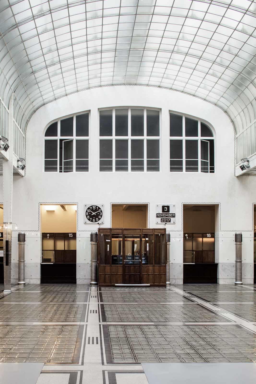 Postsparkassa, Otto Wagner