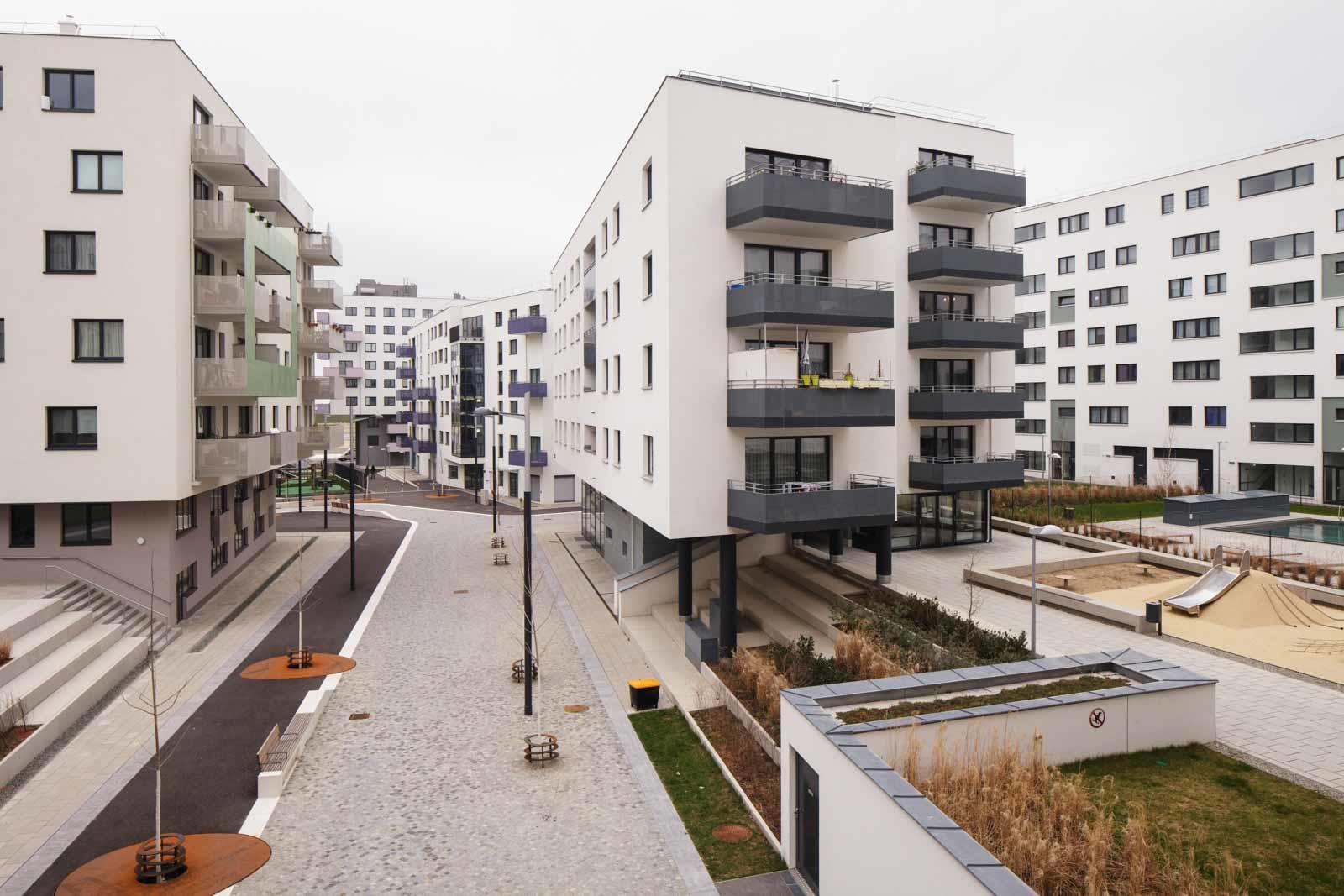 Werk Bauen Wohnen, Seestadt Aspern Sonnwendviertel