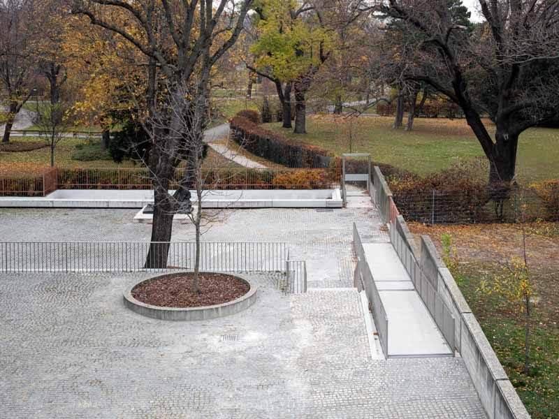 Erschliessung zum Park durch den Skulpturengarten, 21er Haus, Belvedere