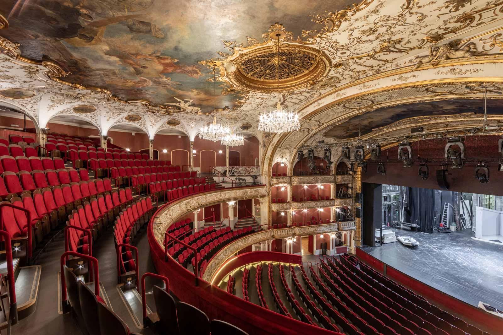 Volkstheater vor Sanierung